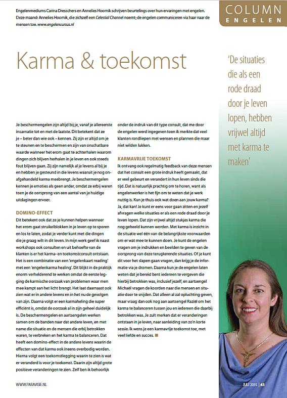 Engelen column paravisie juli 2015 Annelies Hoornik