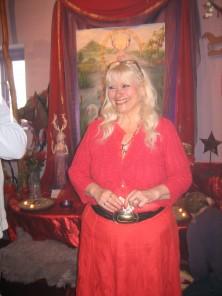 Goddess Temple bezoektijdens de Glastonbury Stonehenge workshop met Annelies Hoornik