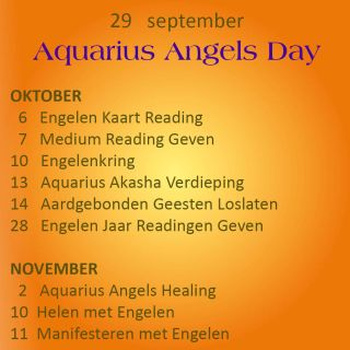 Engelen cursussen september oktober 2018 engelencursus