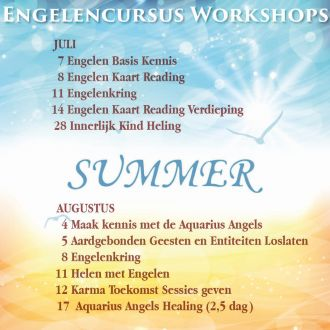 Engelen cursussen in juli en augustus bij engelencursus