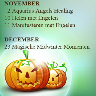 Engelen cursussen november en december 2018 engelencursus