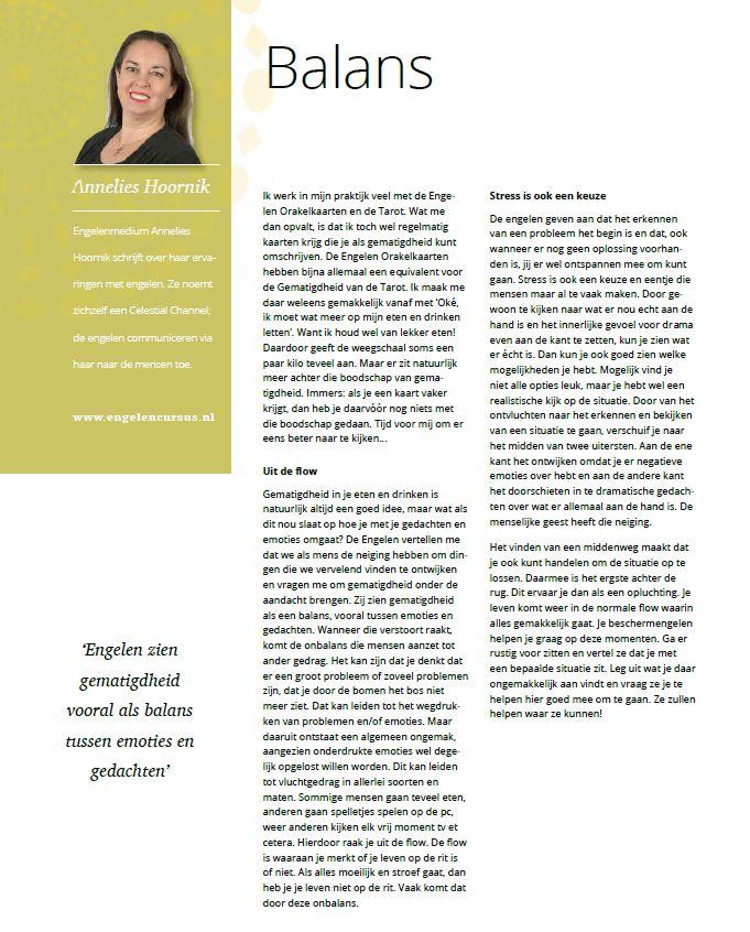 Pareavisie column Annelies Hoornik september 2018 Balans