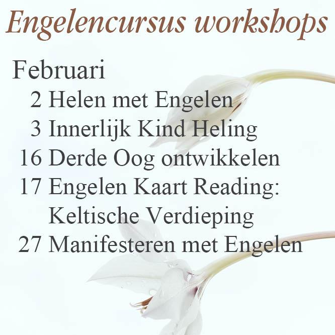 Engelen cursussen december 2018 en januari 2019 engelencursus