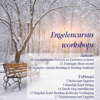 Engelen cursussen januari februari 2019 engelencursus