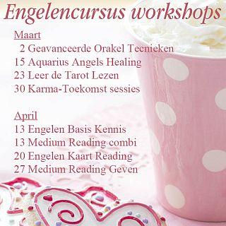 Engelen cursussen 2019 engelen workshops