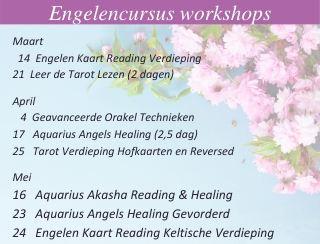 Engelen cursussen 2020 engelencursus maart-mei