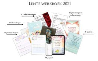 Leef Bewust Beleef de Lente Werkboek