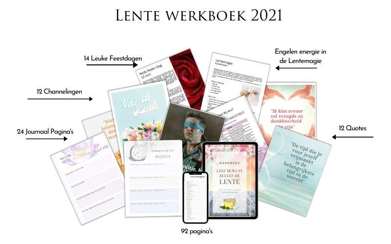 Leef Bewust, Beleef de Lente werkboek 2021