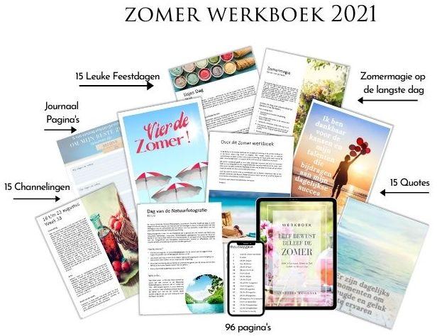 2021 Leef Bewust Beleef de Zomer werkboek