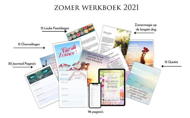 Leef Bewust, Beleef de Zomer werkboek 2021