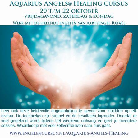 Aquarius Angels Healing bij Engelencursus