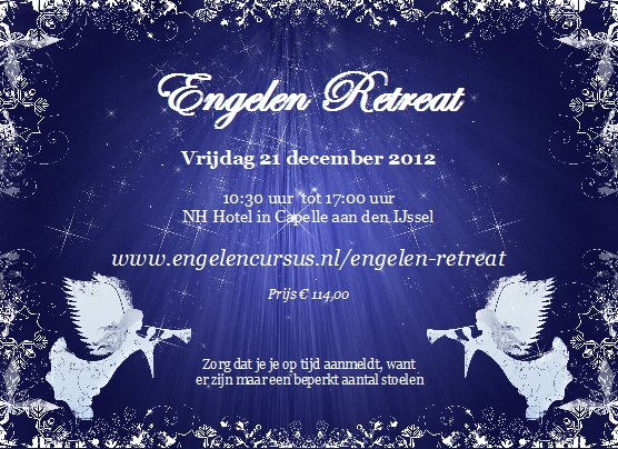 Engelen Retreat op 21 december 2012