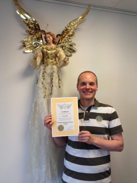 Praktiserend Engelen Expert® Trainer Victor Jirka