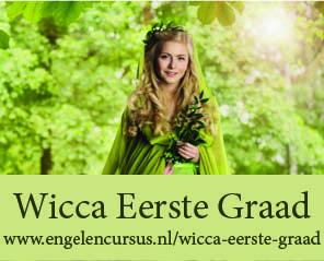 Wicca eerste graad - jaargang e-cursus bij Engelencursus