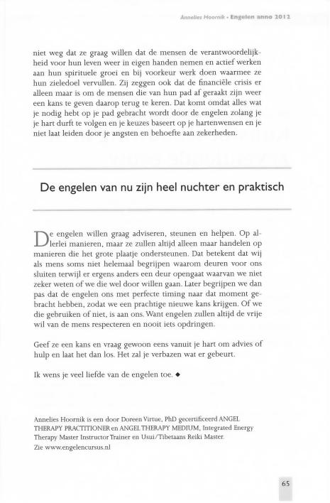 Engelen Annelies Hoonik interview Bres