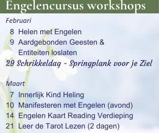Winter workshops 2020 bij Engelencursus