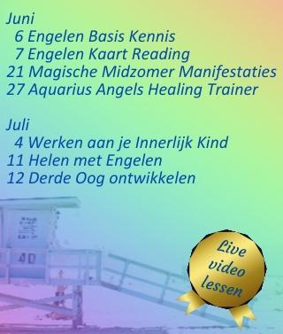 Live videolessen bij Engelencursus van Annelies Hoornik