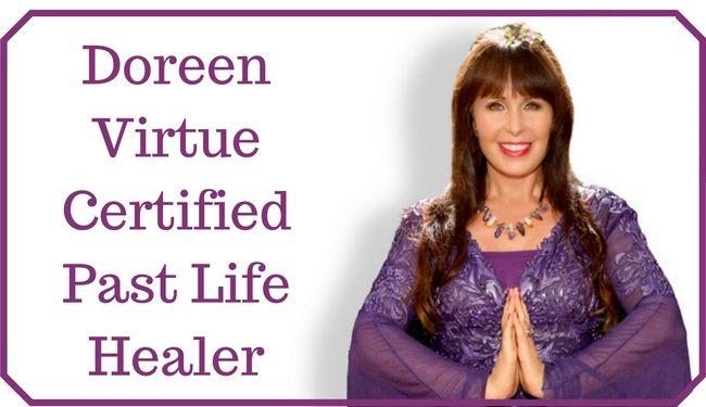 Certified Past Life Healer Annelies Hoornik Doreen Virtue