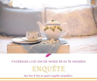 Facebook live 2 keer per week bij Engelencursus