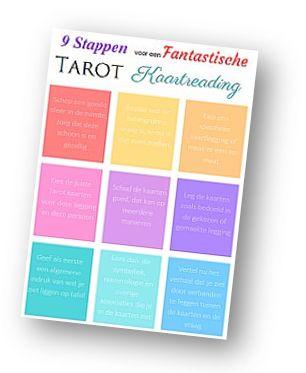 PDF met 9 stappen voor een fantastische Tarot kaartlegging