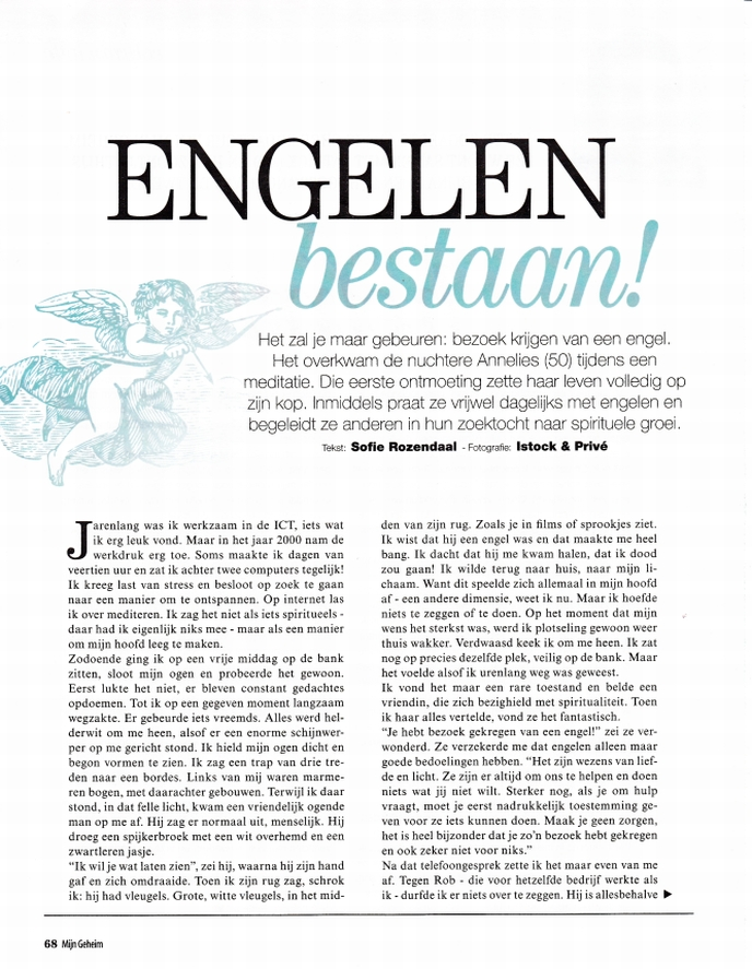Mijn Geheim interview Annelies Hoornik