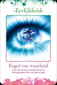 Engelen Orakel boek met kaartenset in geschenkdoos door Annelies Hoornik