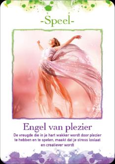 Engelen Orakel van Annelies Hoornik Kaartenset met lesboek