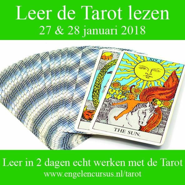 Leer echt werken met de Tarot 27 en 28 januari 2018