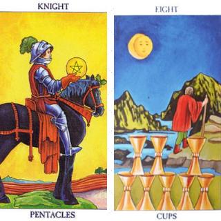 Tarot Tip symboliek bergen