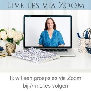 Live les van Annelies Hoornik in Zoom