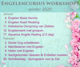 Engelen cursussen winter 2020 engelencursus