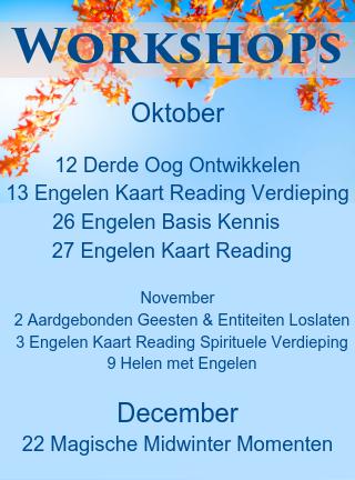 Engelen cursussen oktober tot december 2019 engelencursus