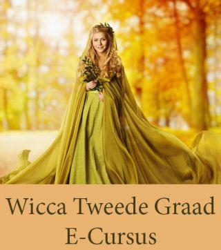 Wicca tweede graad Thuis-cursussen online leren ecursus