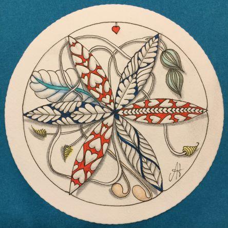 Engelencursus Nieuwsbrief Zendala tekenen een gezellige avond