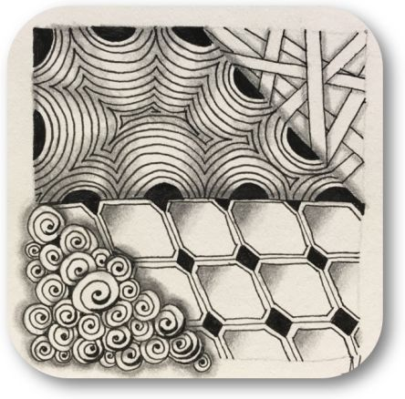 Zentangle basis workshop Annelies Hoornik cursus